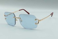 2021 Estilo Quente Atacado De Metal Garra Designer Óculos de Sol 4193820 Homens e Mulheres Moda Óculos De Sol Frete Grátis