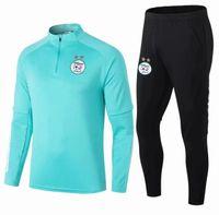 2021 Argélia Homens Futebol Tracksuit Jacket Survection 20 21 Maillot de Foot Feghoul Mahrez Bounce Futebol Futebol Terno