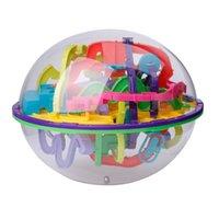 299 barreras 3D Magic Intellect Ball Balance Maze Game Puzzle Globe Toy Kid Gift H1009