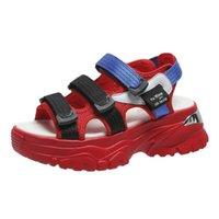 XPAY Женские сандалии повседневные моды все-матч спортивные женские туфли вамп украшения модные сандалии