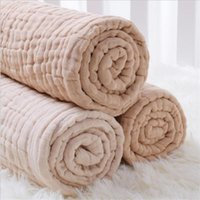 Blankets & Swaddling 6 Layers Bamboo Cotton Baby Receiving Blanket Infant Kids Swaddle Wrap Sleeping Warm Quilt Bed Cover Muslin
