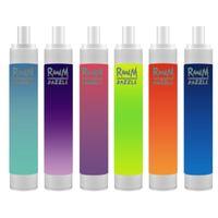 RandM Dazzle Pro 2600 Puffs Disposable Electronic Cigarette Device Kit Vape Bar R and M RGB Light 12 Colors