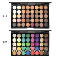 Cosmetic 40 colors earth color smoky Eye Shadow Shimmer Matte Makeup Eyeshadow Palette
