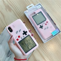 Tetris Game Console Phone Case for Apple iphone 12 pro max 11 XR Vivo x21 x23 X9 X9S Oppo R17 R11S Xiaomi 6