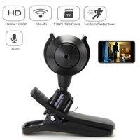 Cameras HD 1080P Portable WiFi IP Mini Camera P2P Wireless Micro Webcam Camcorder Video Recorder Support Remote View Hidden TF Card
