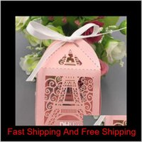 Paris Eiffel Tower Candy Box Wedding Party Gift Wrap Supplies Wedding Favors And Gifts Baby Shower Favor Laser Cut Gift Box Frffv Oocp1