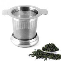 Fine del tè del tè del tè dei filtri del caffè dei filtri dei caffè riutilizzabili in acciaio inossidabile Infusatori di tè Zza3320
