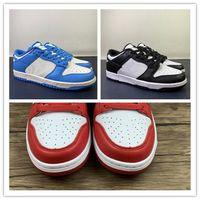 도매 2021 블랙 화이트 블루 레드 남자 실행 신발 여성 고품질 스포츠 스 니 커 즈 트레이너 상자 36-47