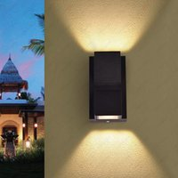 Outdoor Wall Lamps Up Down 6W LED Sconce Light Waterproof Lamp Fixture Balcony Walkway Gate Garden