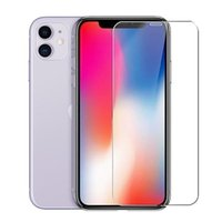 9H Tempered Protective Glass For iPhone 11 12 Pro XR X XS Max Screen Protector Film on iPhone 7 6 8 6s Plus 5 5S SE FrontGlass