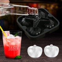 Ice Box Tools Используется для создания Apple Flush Silicone Cube Hockey Hool Creative Whiskey Phare Set, доступная в нескольких цветах