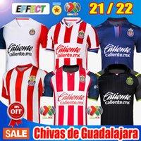 2021 2122 Chivas Guadalajara 115th 홈 멀리 세 번째 축구 유니폼 20 22 Unam Xolos Club Tijuana Atlas Leon Camiseta de Futbol 저지 키트 축구 셔츠