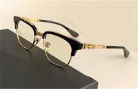 남성 안경 디자인 Bonennoisseur 광학 처방전 고양이 아이 프레임 클래식 스타일 세부 사항의 전체 평면 렌즈 최고 품질