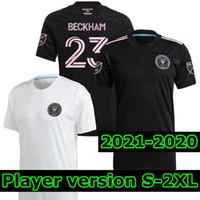 Joueur Version 2020 2021 2022 Inter Miami Beckham Socer Jersey 20 21 22 Julián Carranza Sweat Pellegrini Inter Miami CF Camisetas de Fútbol