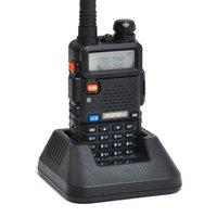 BAOFENG UV-5R UV5R WALKIE TALKIE DUAL BAND 136-174MHZ 400-520MHz Two Way Radio Transceiver con Auricolare gratuito della batteria 1800mAh