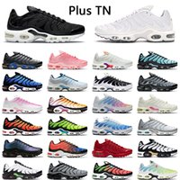 【code: OCTEU03】nike air max tn plus se chaussures de course haute qualité hommes femmes triple noir blanc hyper bleu chaussures de sport pour hommes formateur baskets de sport