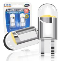 W5W T10 LED CANBUS 194 168 Cáscara de vidrio High Bright Bulbs COB Licenciadas Lámpara 12V Luz de cúpula en Dashbo