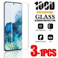 Cell Phone Screen Protectors Vidro temperado para for samsung galaxy s10 plus s9 s8 protetor de tela s20 s21 s10e s 9 8 10 e nota 20 ultra 5g cobertura completa
