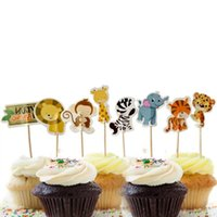20pcs Baby Shower Cup Cake Toppers Boy Girl Party Cute Decoration Baby Shower Birthday Party DIY Cake Topper Supplies 2161 V2