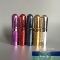 2 stuks 6ml hervulbare draagbare mini-parfum bottletraveler aluminium spray verstuiver lege parfum fles gratis