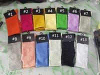 Stocking Femmes Hommes Bas Bas Haute Chaussette Moyen-mollet Longue Chaussettes Sports Football Cheerleaders Coton 13 Multi couleurs Marque à pleine lettre