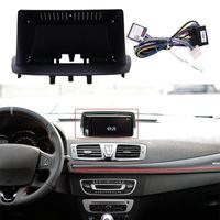 Автомобильный аудио 2din 9-дюймовая стереодинамическая панель с подключением жгута DVD приборной панель для Megane 3 2009-2014