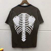 Kapital os T-shirt Hommes Femmes Kapital Casual Tshirt Envoi rapide
