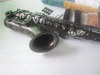 Tenor Saksafon Japonya Suzuki Yüksek Kaliteli Matt Siyah Müzik Enstrüman Profesyonel Çalma Sax Kılıfı