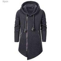 Зима 2021 европейская и американская мода мужская ассазин Creed Black Series Hoodie повседневная свободная нерегулярная пуловер с капюшоном отдыха