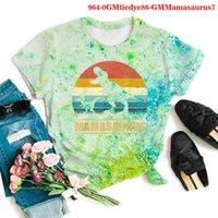 Men's T-Shirts Dinosaur graphic tiedye shirt, summer clothes harajuku, big size, women's T-shirt, gothic clothes, short sleeves PAJL