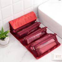 Косметические сумки для хранения Case Roll-Up Косметики Макияж Чехол Организатор Чехол Туалетные Изделия Зуб Ювелирные Изделия Сумка Бесплатная Доставка