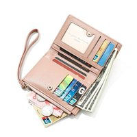 Wallets Wallet Female PU Leather Leisure Short Purse Black Style Women Lady Coin Card Holders Casual Carteras