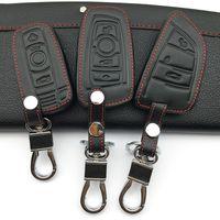 Car key wallets cover case holder skin set for BMW e30 e36 e90 e60 e84 e39 e46 e90 e63 e53 F10 F30 x1 x3 x4 fob remote protector