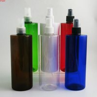 12 x 500ml Refillable Large PET perfume bottle 500c mist spray plastic Containers Vials With Mist Sprayergood qty