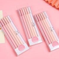 6 teile / satz Niedliche Gelstifte Kawaii Schnelltrocknungskappe Neutral Pen Bullet Journal Supplies Gelstift Set Art Supplies Schreibwaren