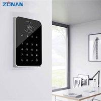Zonan Touch GSM نظام RFID بطاقة لوحة المفاتيح اللاسلكية المنزل اللاسلكية