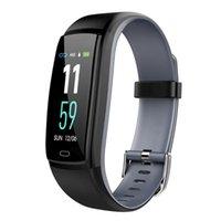 Y9 Smart Uhr Blutdruck Herzfrequenzmonitor Fitness Tracker Smart Armbanduhr Wasserdichtes Passometer Kamer Smart Armband für iOS Android