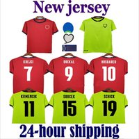 20 21 República Checa futebol Jersey Home Jerseys 2021 Skoda Soucek Jankto Husbauer Kaderabek Kits de futebol Camisas Uniforme Tailândia
