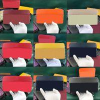 sacos goya zipper longa carteira multicolor grande capacidade de couro real homens e mulheres universal dente zero