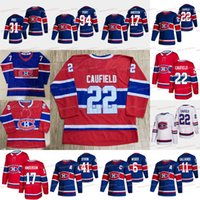 Cole Caufield Montreal Canadiens 2021 Reverse Retro Shea Weber Carey Preço Eric Staal Jesperi Kotkaniemi Corey Perry Brendan Gallagher Anderson Suzuki Jersey