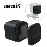 Glorystar for Gopro Hero 5 4 Beading Lens Cap Cover Case House Case واقية مع GoPro logo for Go Pro Hero 4/5 جلسة 5S 4S