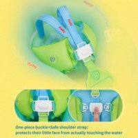 Life Vest & Buoy Infant Baby Swimming Float Inflatable Ring Bath Circle With Bottom Support