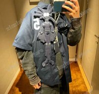 21 ss männer gedruckt t shirts hemd polo puppe brief stickerei brust kleidung kurze hülse herren tag buchstaben blau weiß