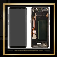 Original Touch Screen Panels LCD Display For Samsung Galaxy S8