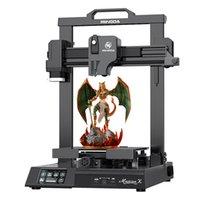 Mingda Magician x 230 * 230 * 260mm 자동 무료 레벨링 더블 기어 직접 압출기가있는 3D 프린터