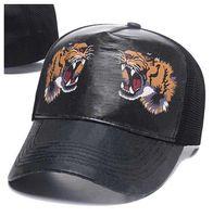 Uomini Donne Brands Berretto da palla di alta qualità Sport Sport Berretto da baseball Regolabile Designer Tigre Ape Casual Snapback Hat Daddy Golf Hats Casquette