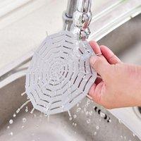 Filtro per lavandino Doccia Drain Silicone Lavello del silicone Dracco dei capelli Tappo di Catcher Filtro Accessori da bagno Accessori da bagno Filtro FULLURE OWC6093