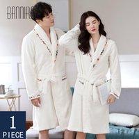 Bannirou Robe Robes Femmes Robes Femmes Peignoir pour femmes Peigneur d'hiver Femme Femme