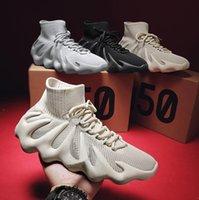 Wolke weiße Sahne 450 Versorgung Kanye 450s Laufschuhe West Herren Womens Schwarz Israfrille Männer Asriel Statische Reflektierende Lässige Außenschuh Sneakers mit Kiste 36-45