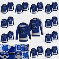Toronto Maple Leafs Wendel Clark 2020-21 Jersey de hockey rétro Retro Zach Hyman Mitchell Marner Auston Matthews Williams Nylander Jake Muzzi